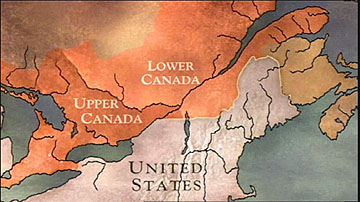 The War Of Peace History - Map of us in 1812