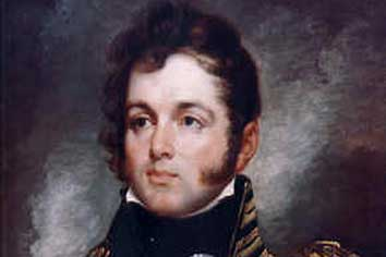Oliver Hazard Perry, American hero of the Battle of Lake Erie