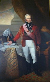 British General Sir John Coape Sherbrooke, Lieutenant Governor of Nova Scotia
