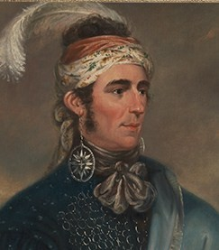 Mohawk leader John Norton (Library & Archives, Canada)