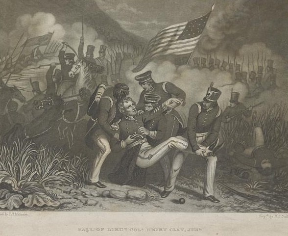 The fall of Lt. Col. Henry Clay, Jr.