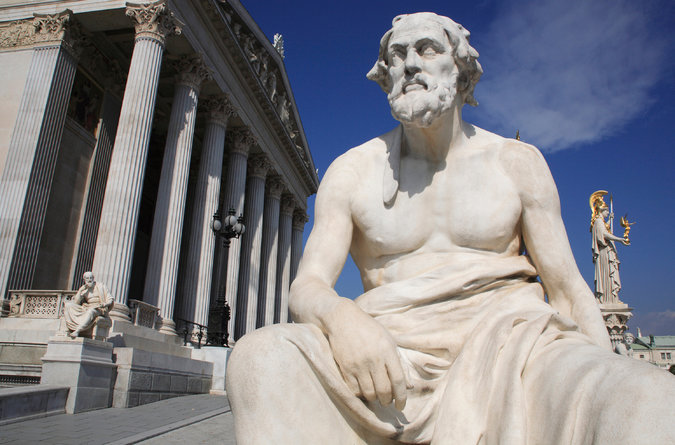 Ancient Greek historian and philosopher Thucydides