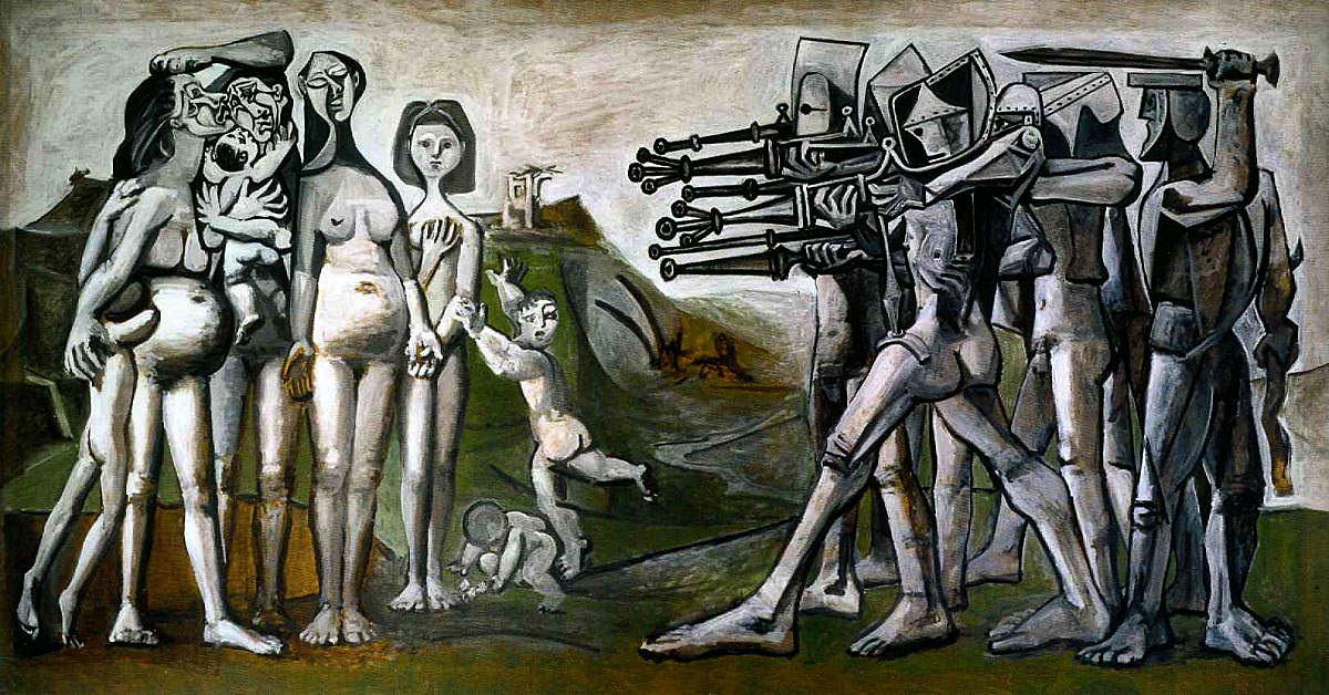 """Massacre in Korea"" by Pablo Picasso, 1951"