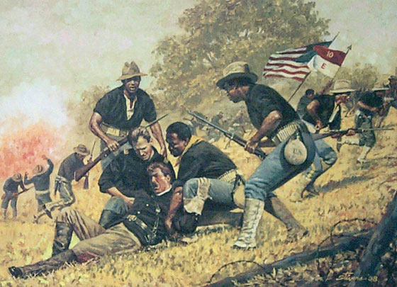 The Ninth U.S. Infantry Regiment in the Battle of San Juan Heights