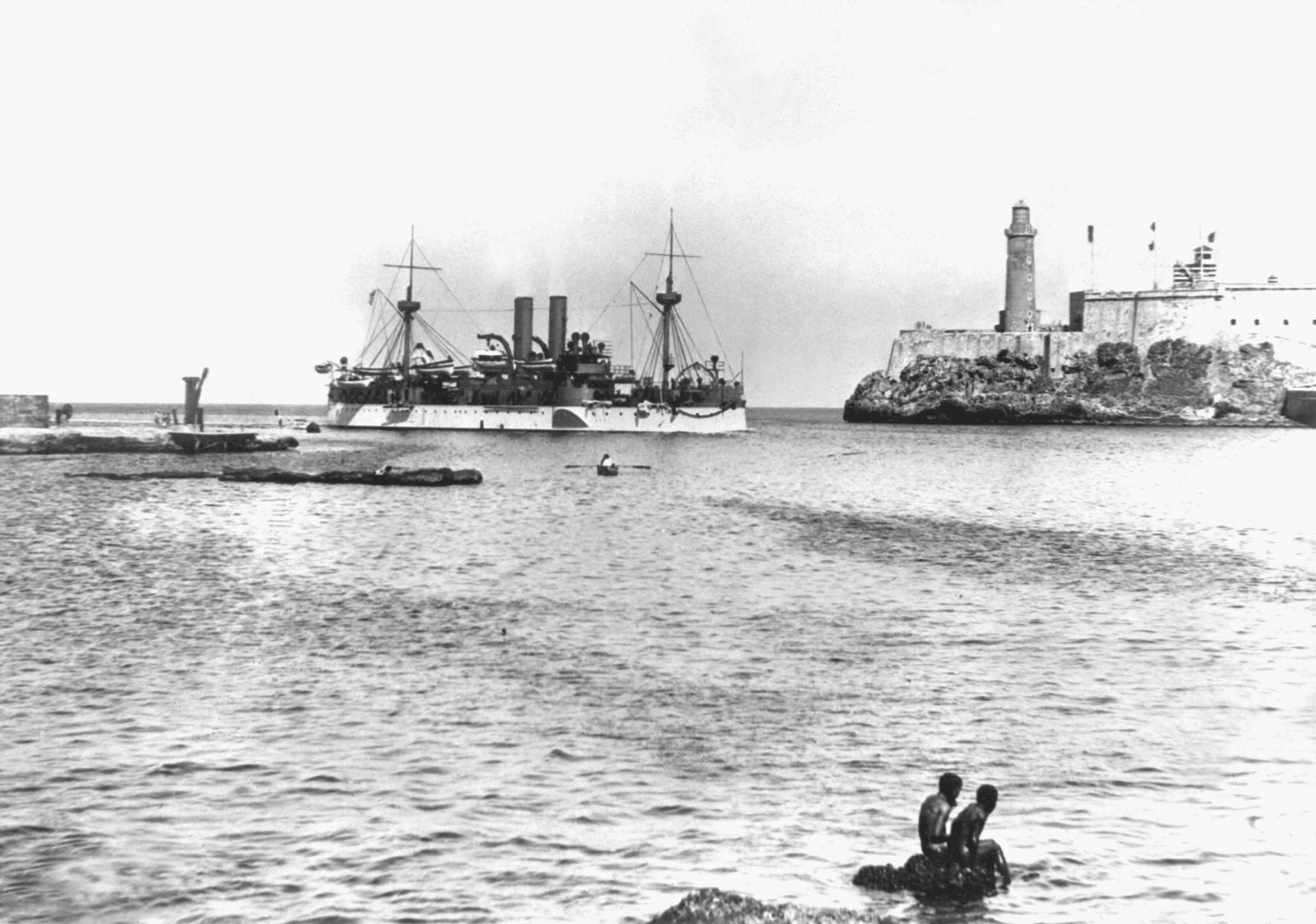 The USS Maine entered Havana harbor on January 25, 1898