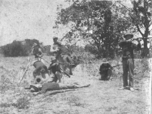 Company G of the 32nd Infantry ambushed on Feb. 5, 1900j