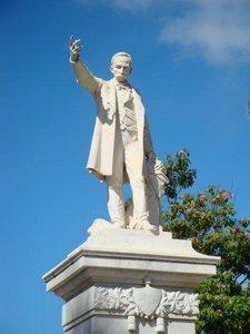 José Martí statue in Santiago de Cuba