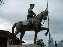 Statue honoring Emilio Aguinaldo in Cavite