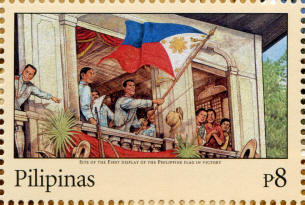 Stamp honoring Philippine Independence Day, June 12, 1898