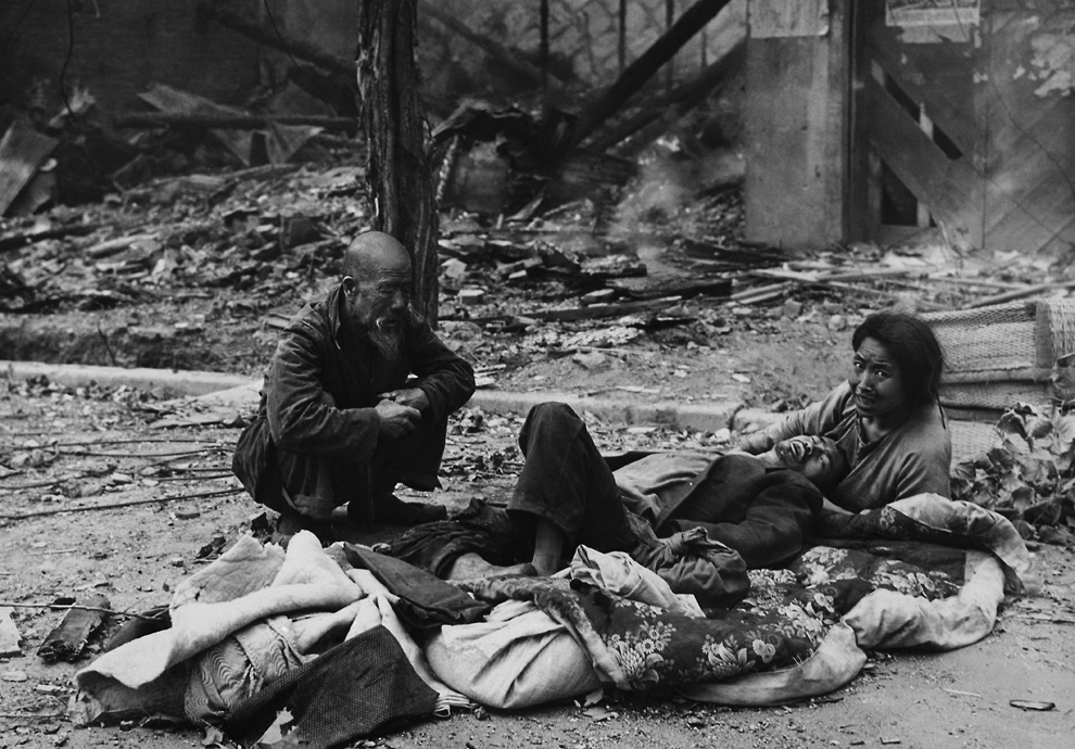 Korean civilians after the battle for Seoul