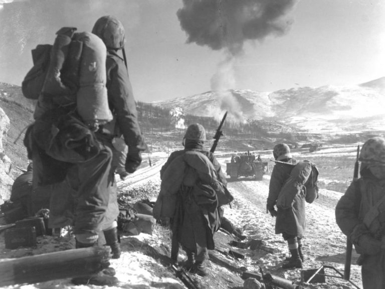 U.S. Marines in North Korea, Dec. 1950