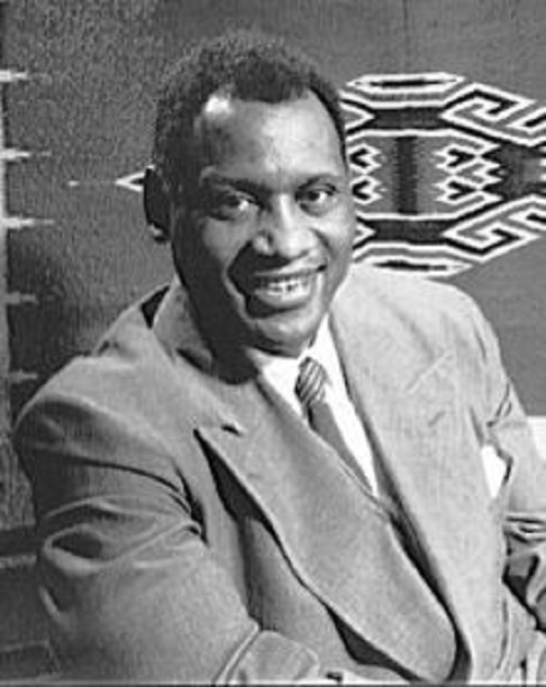 Singer Paul Robeson