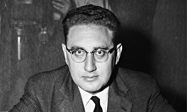 Henry Kissinger, 1957, author of Nuclear Weapons and Foreign Policy (Photo by Bettmann-Corbis)