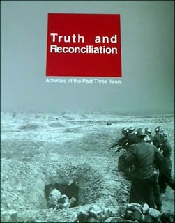 Cover of the South Korean Truth and Reconciliation Commission Report, 2010