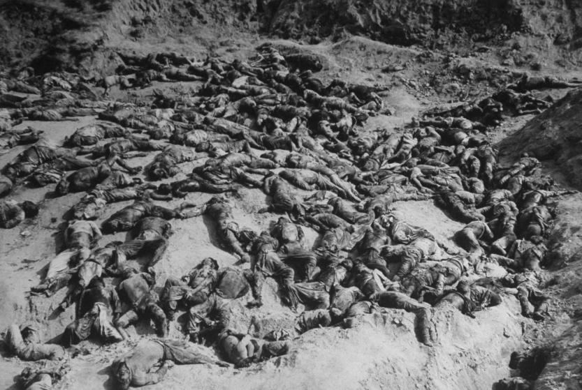 Slaughter of South Korean prisoners at Taejon by North Koreans