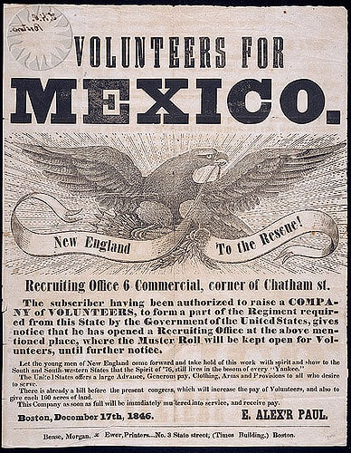 a history project on the causes for the mexican war from 1846 to 1848 Mexican american war 1846 missouri mounted volunteers  mexican american war the mexican american history war photography history class  mexican war 1846-1848.